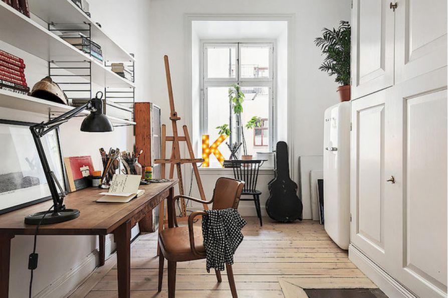 12 ý tưởng trang trí phòng làm việc tại nhà giúp công việc đạt hiệu quả