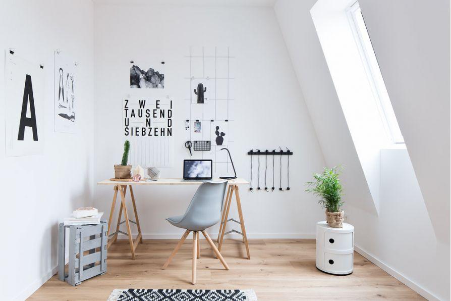 15 mẫu bàn làm việc đơn giản mà đẹp cho căn phòng hiện đại