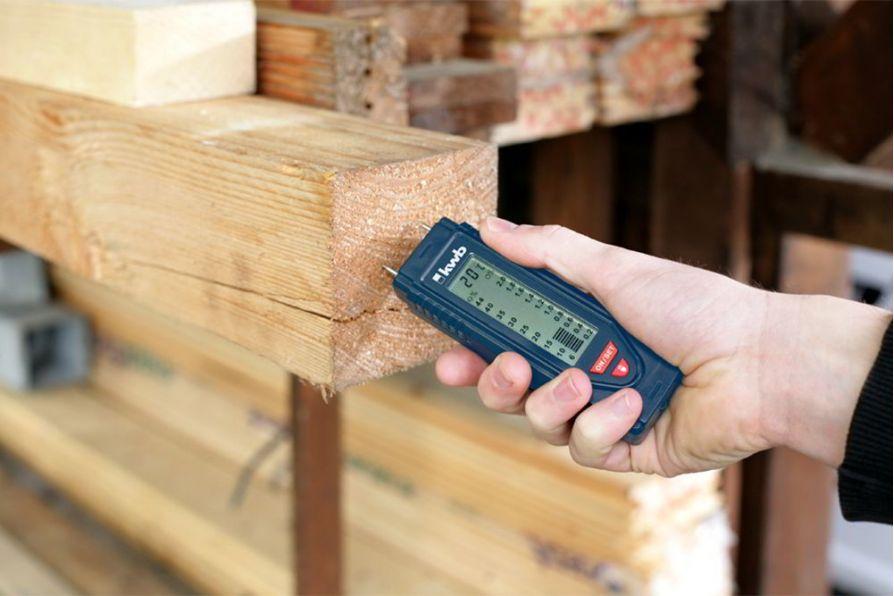 Máy đo độ ẩm gỗ, nguyên lý đo và phạm vi ứng dụng
