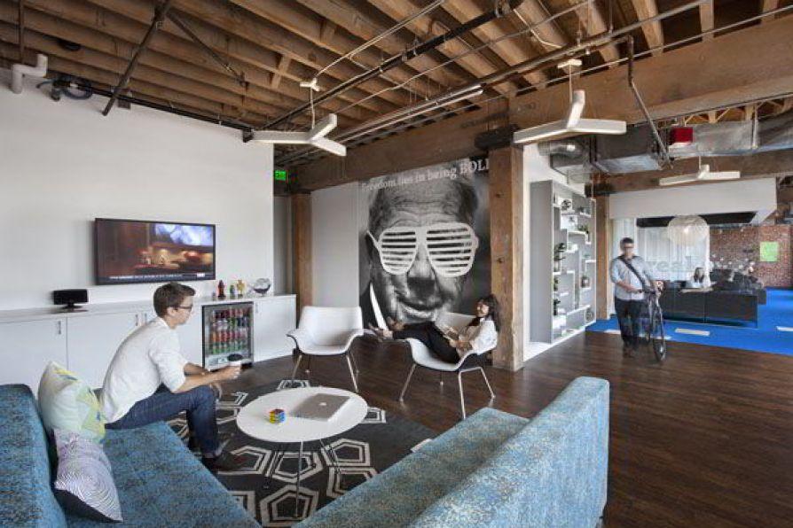 Khám phá bên trong không gian văn phòng của Adobe ở San Francisco