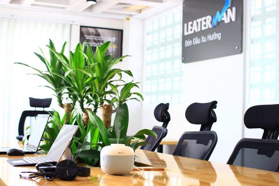 Thi công nội thất văn phòng của công ty Leaterman Jsc