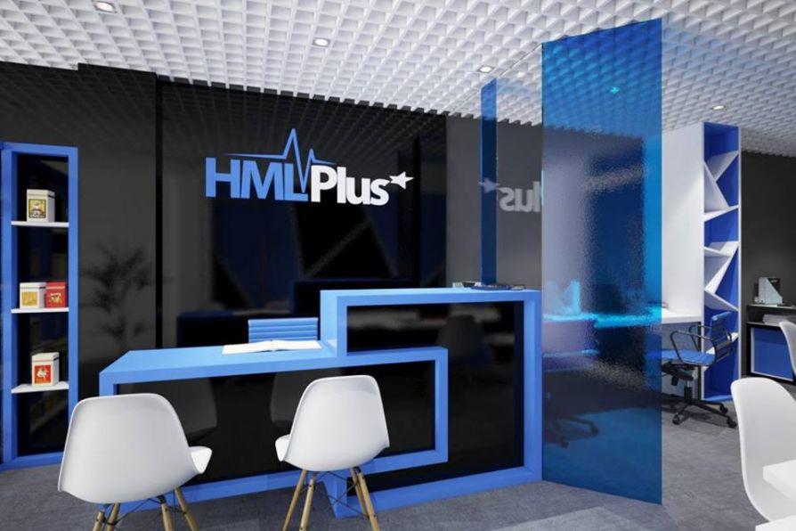 Thiết kế và thi công văn phòng làm việc của công ty HML Plus