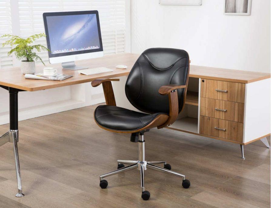 Top 15 mẫu ghế xoay văn phòng bằng gỗ sang trọng và ấn tượng