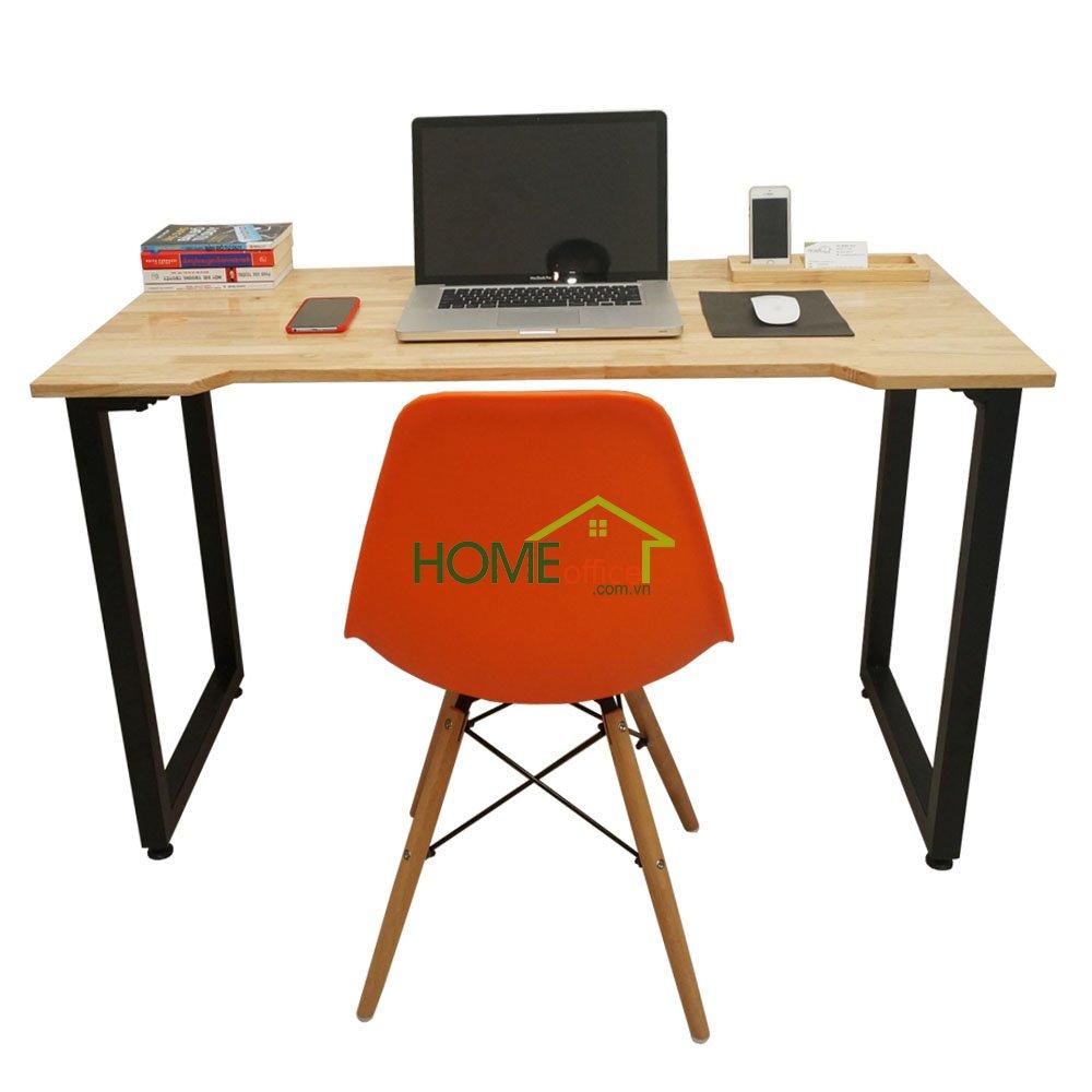 Combo bộ bàn ghế làm việc tại nhà SimpleDesk mặt khuyết