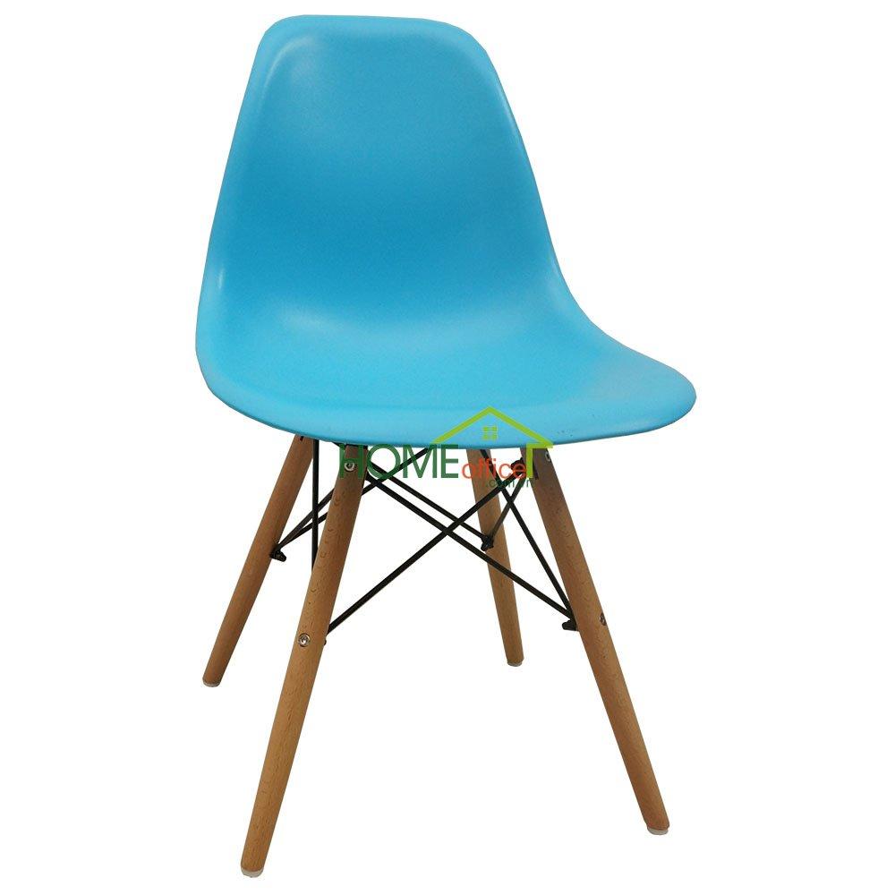 ghế nhựa eames màu xanh dương đẹp