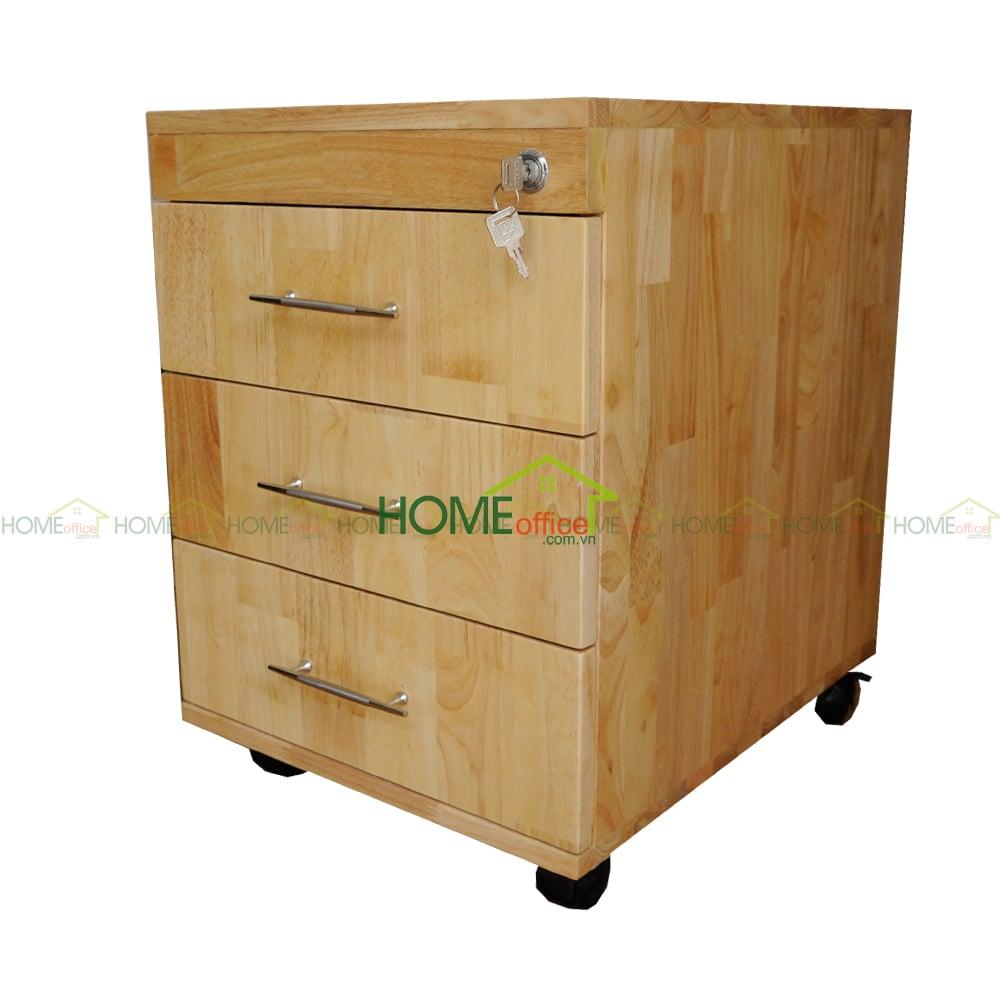 Tủ cá nhân màu gỗ tự nhiên