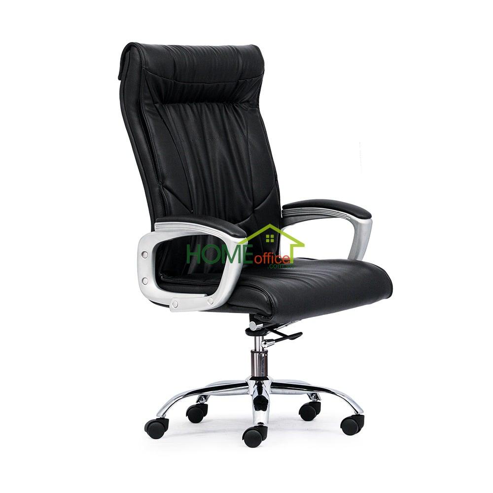 Ghế xoay lưng cao màu đen