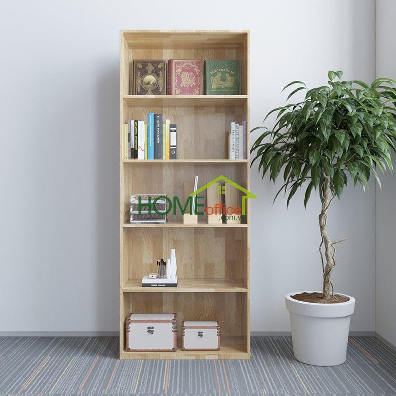Tủ hồ sơ cao 5 tầng gỗ cao su