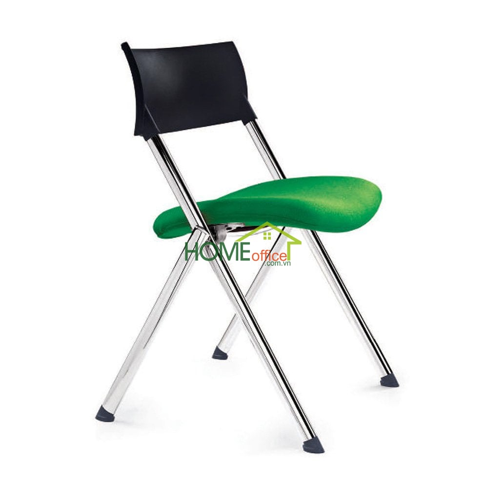 Ghế xếp văn phòng nệm xanh lá