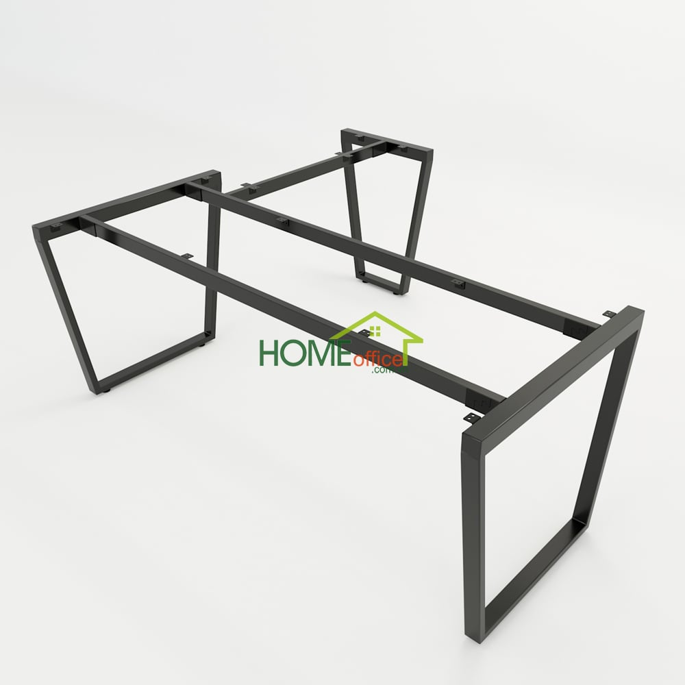 Bàn chữ L 180x160 Trapeze Concept lắp ráp