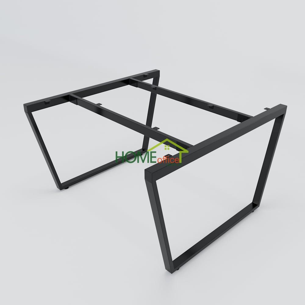 Bàn cụm 2 120x120 Trapeze Concept lắp ráp