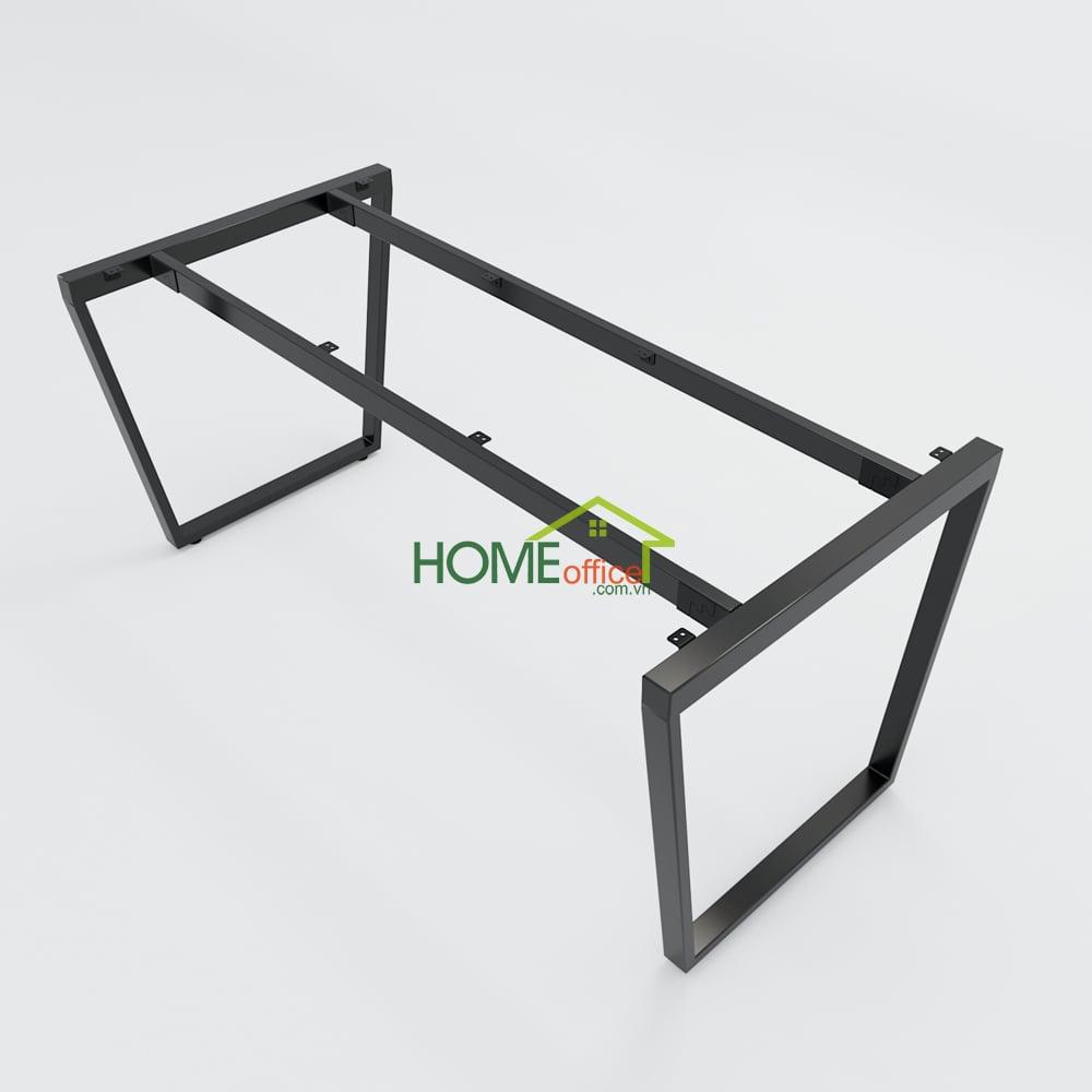 Bàn họp 160x80 Trapeze Concept lắp ráp