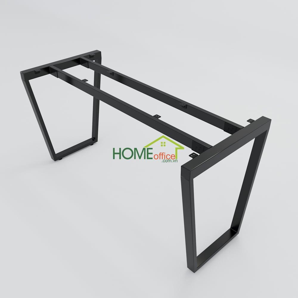 Bàn làm việc 120x60 Trapeze Concept lắp ráp