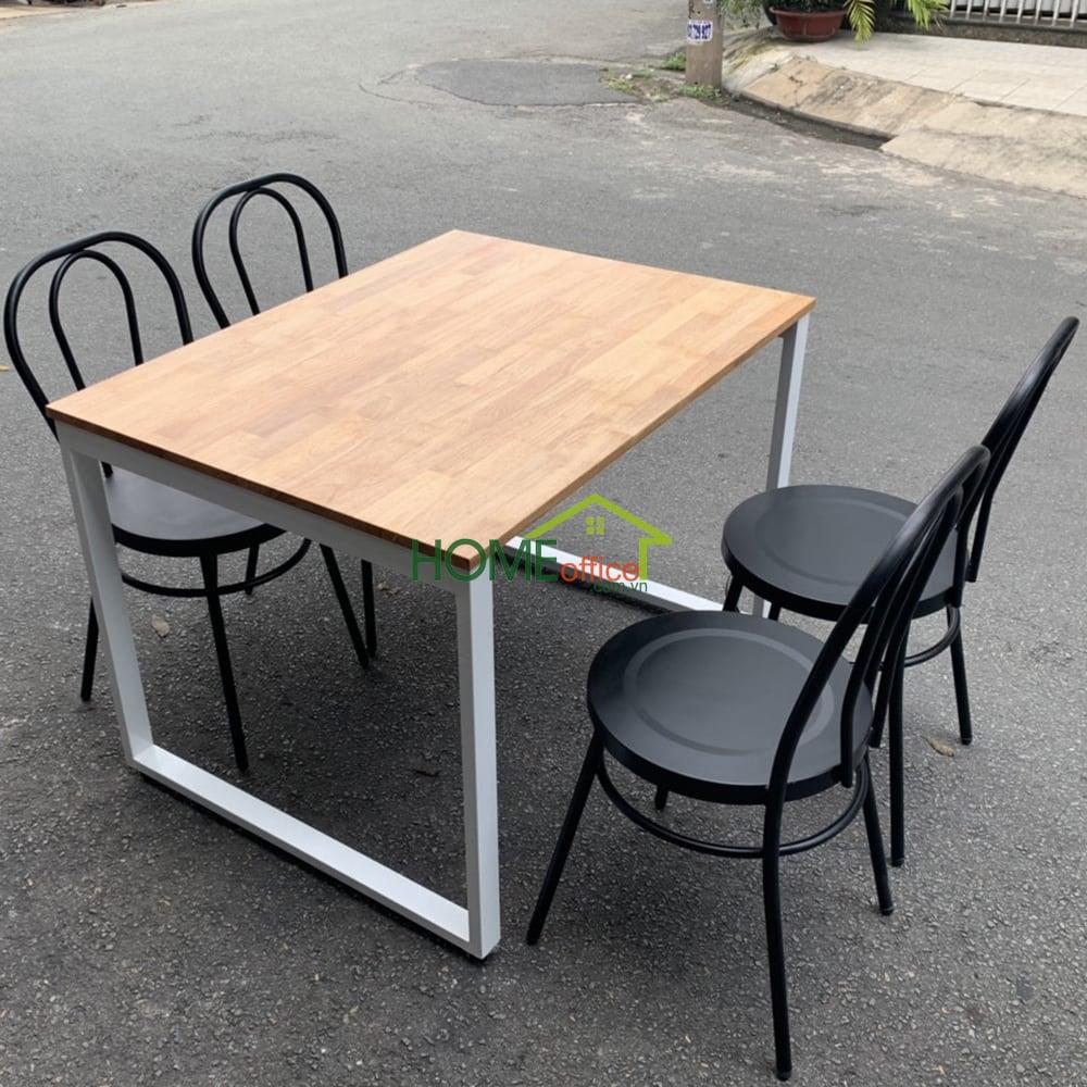 Bộ bàn ăn phù hợp cho chung cư