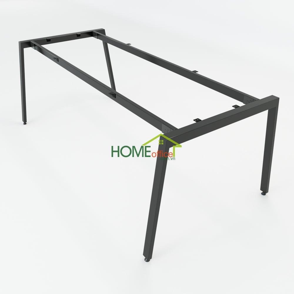 Chân bàn sắt lắp ráp sơn tĩnh điện cao cấp đảm bảo độ bền