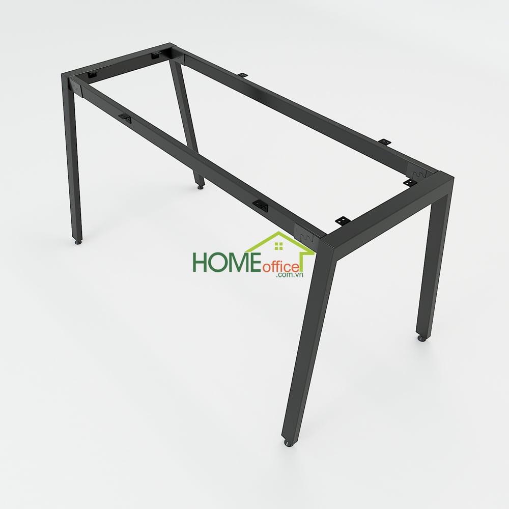 Chân bàn sắt cơ cấu lắp ráp sơn tĩnh điện cao cấp