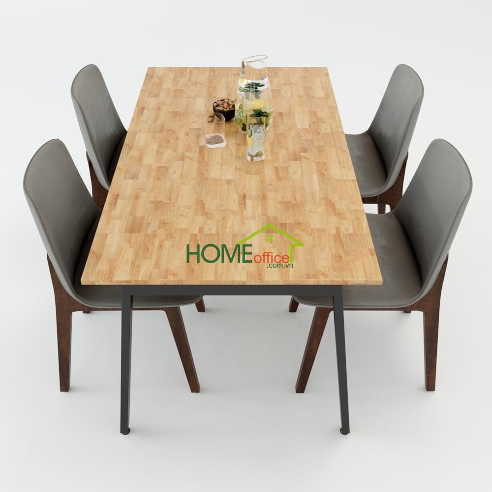 Bộ bàn ghế ăn nhà bếp 4 người