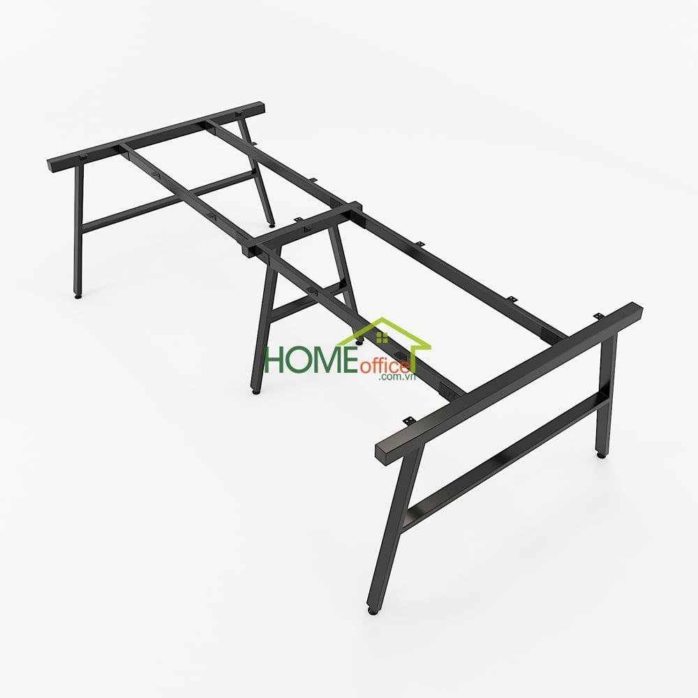 Chân bàn sắt kích thước 240x120cm