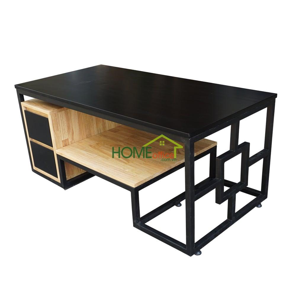 bàn trà gỗ hiện đại