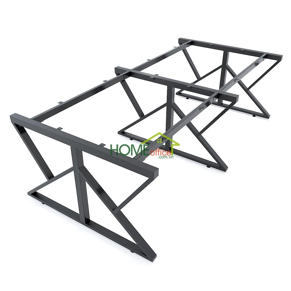 Chân bàn sắt concept lắp ráp