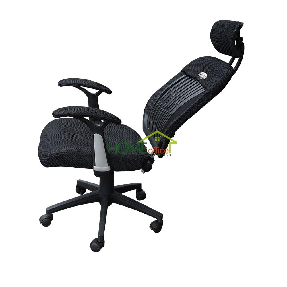Ghế văn phòng chân xoay có ngả nằm