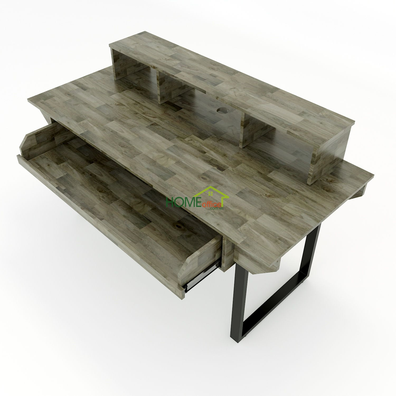 Bàn phòng thu StudioDesk gỗ cao su