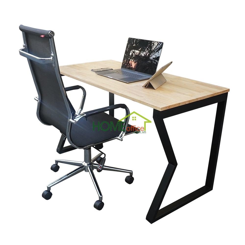 Combo bàn làm việc và ghế lưới chân xoay