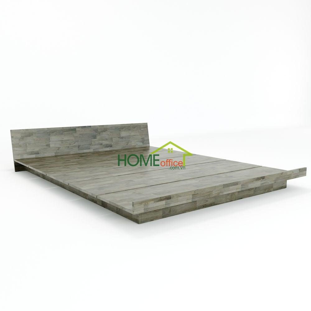 Chất liệu gỗ cao su sơn PU hoàn thiện đẹp mắt