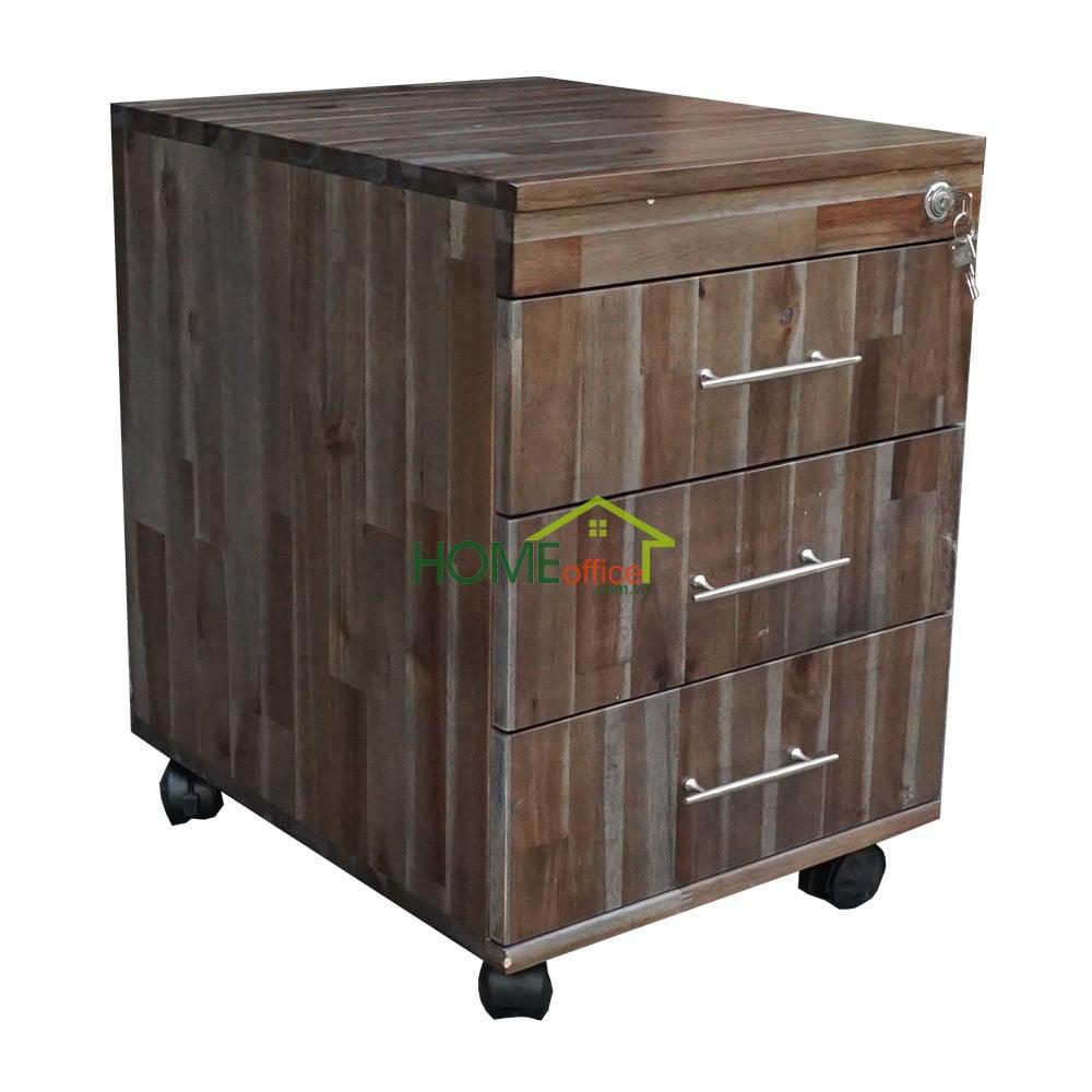Tủ cá nhân gỗ tràm màu Nâu