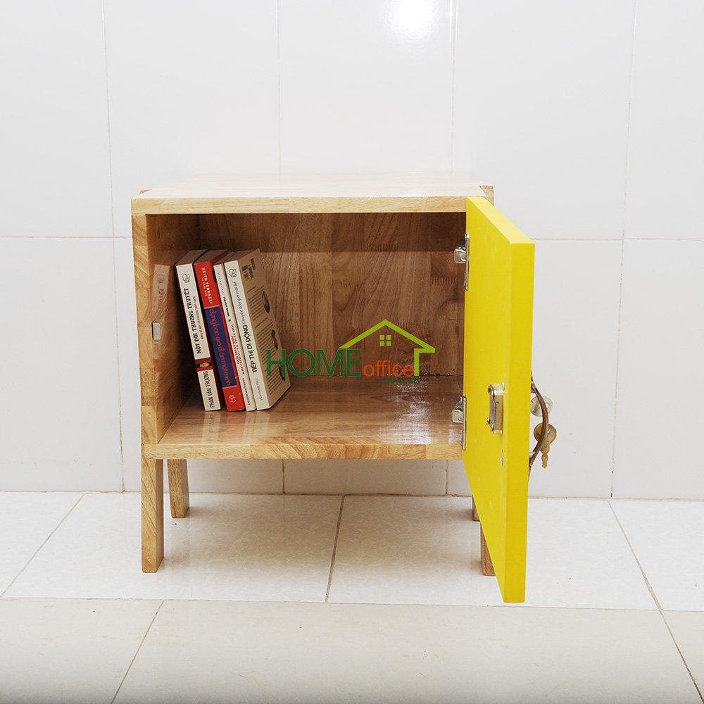 tủ 1 cửa màu vàng