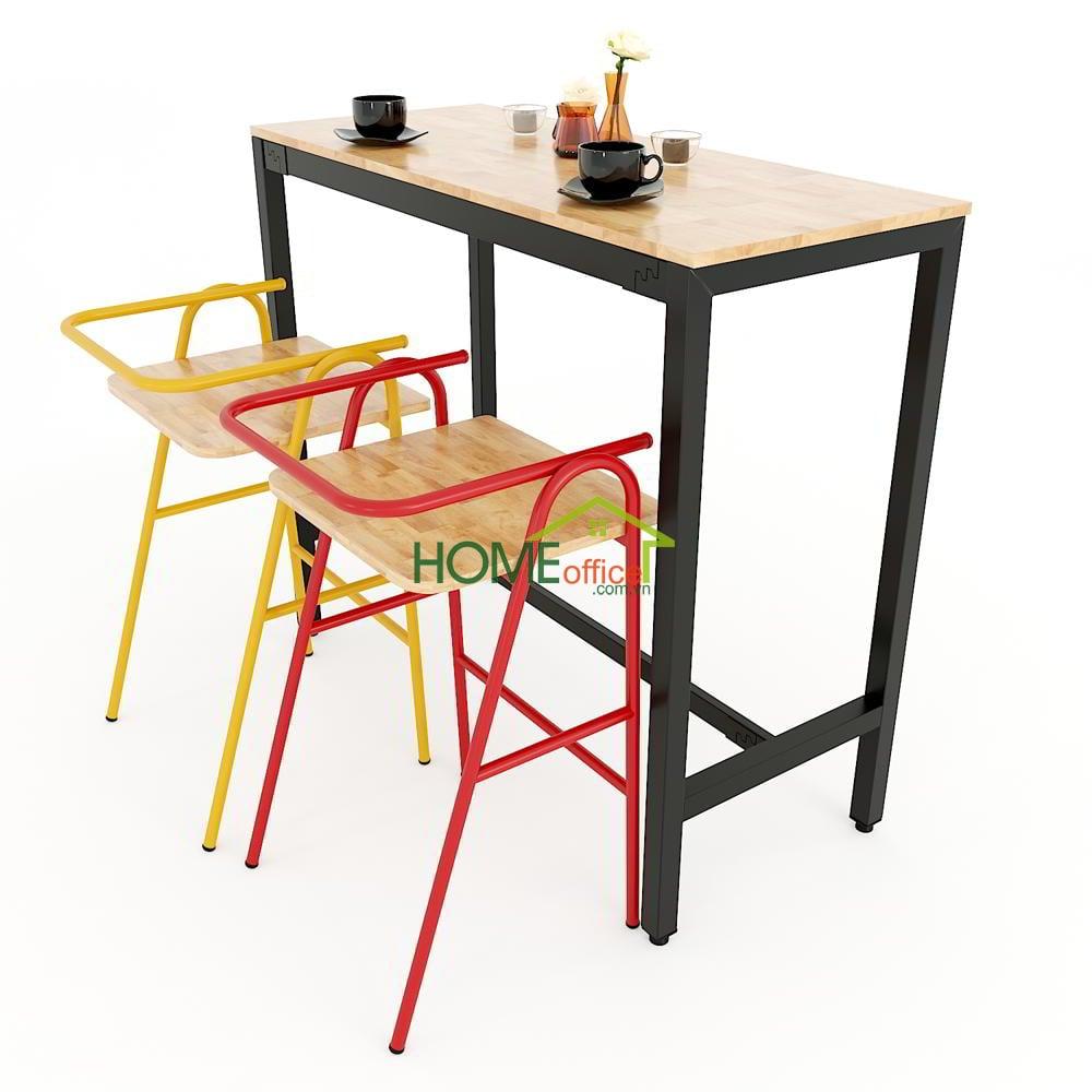 Combo bàn bar và ghế COZY nhiều màu