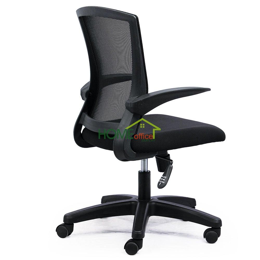 ghế văn phòng chân nhựa xoay lưng lưới