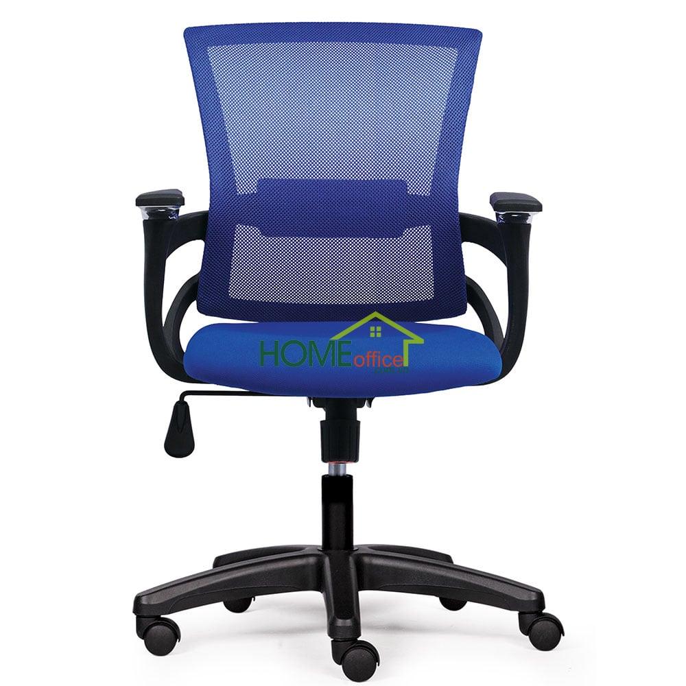 Ghế văn phòng lưng lưới màu xanh