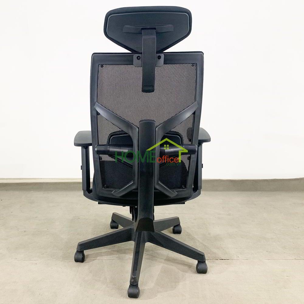 Ghế văn phòng chân xoay có tựa đầu