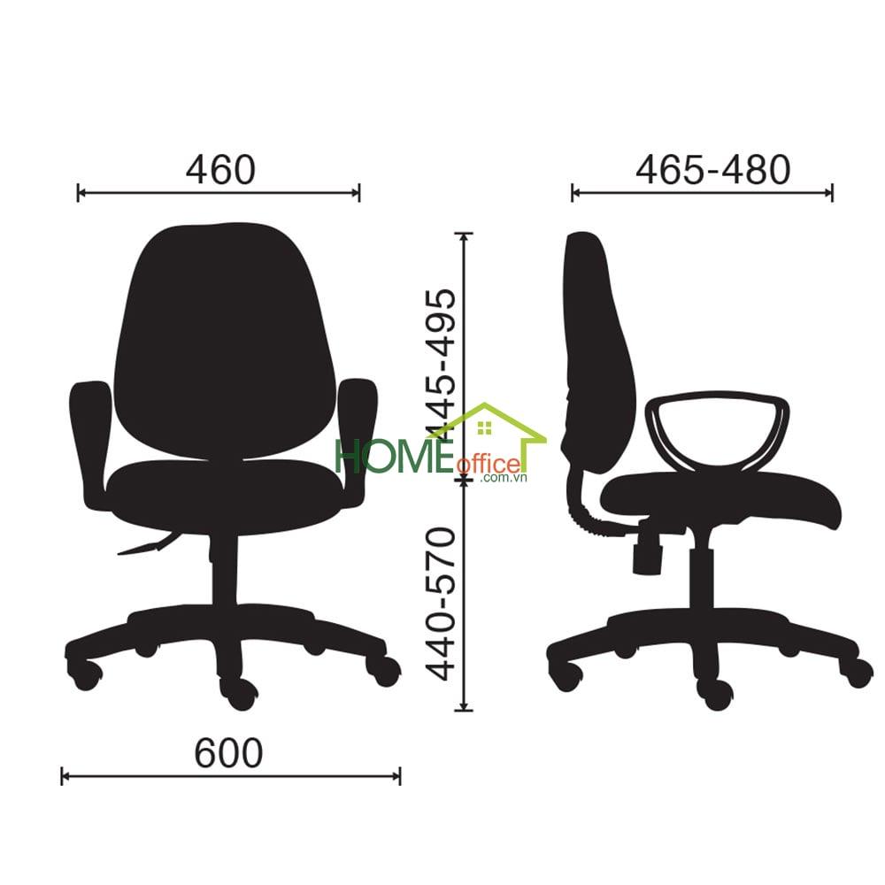 Ghế văn phòng chân xoay