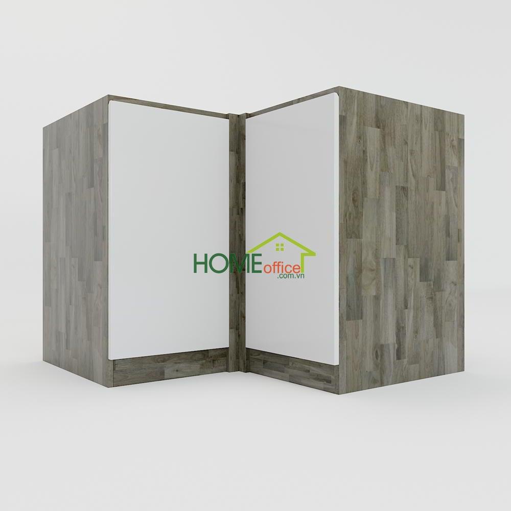 Module hệ tủ bếp dưới 2 ngăn kéo góc chữ L