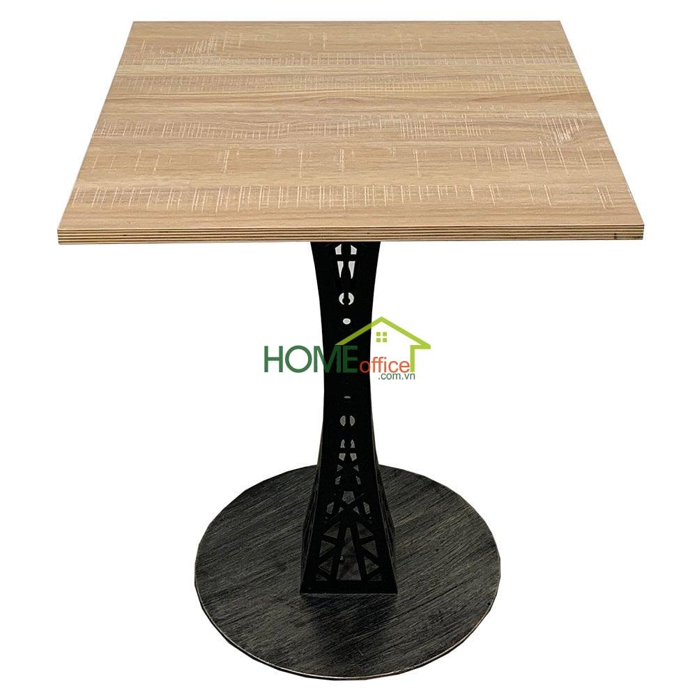 bàn cafe chân sắt