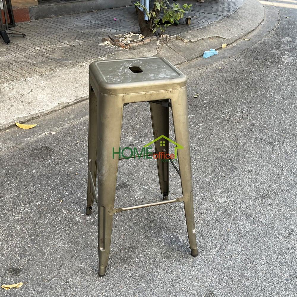 thanh lý ghế cafe tolix cao