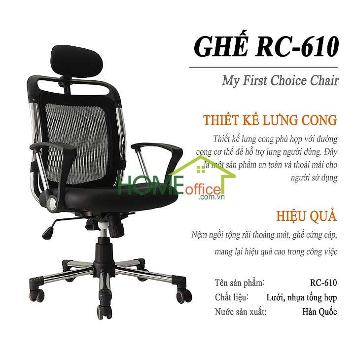 ghế văn phòng cao cấp nhâpj khẩu hàn quốc