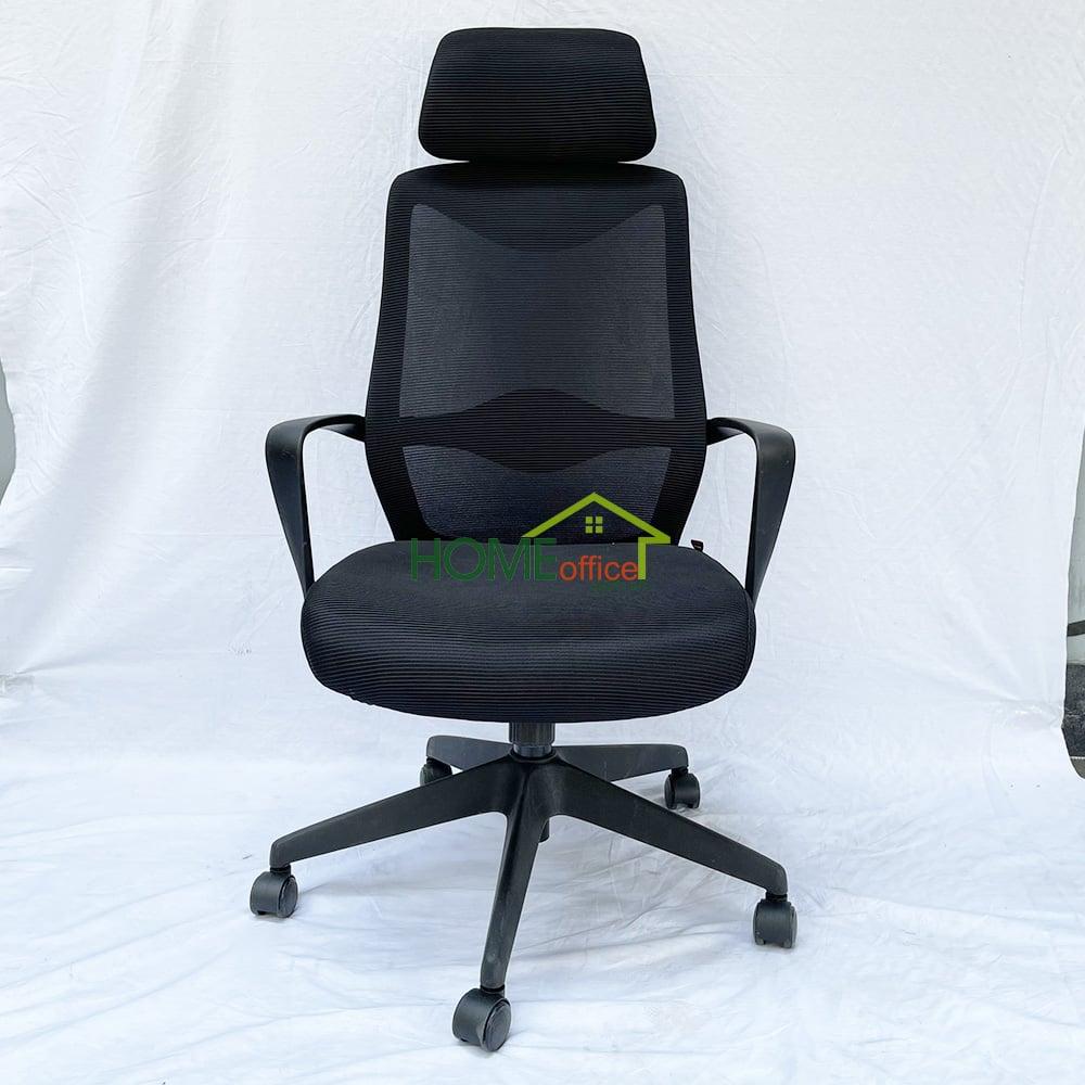 Ghế văn phòng chân xoay có tựa đầuMF719L