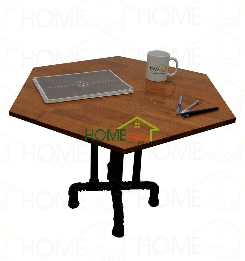 bàn sofa phòng khách chân ống nước độc đáo