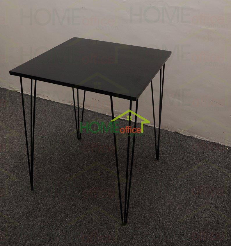 bàn cafe màu đen