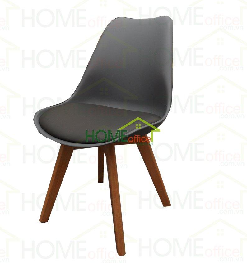 ghế bàn cao có đệm màu xám