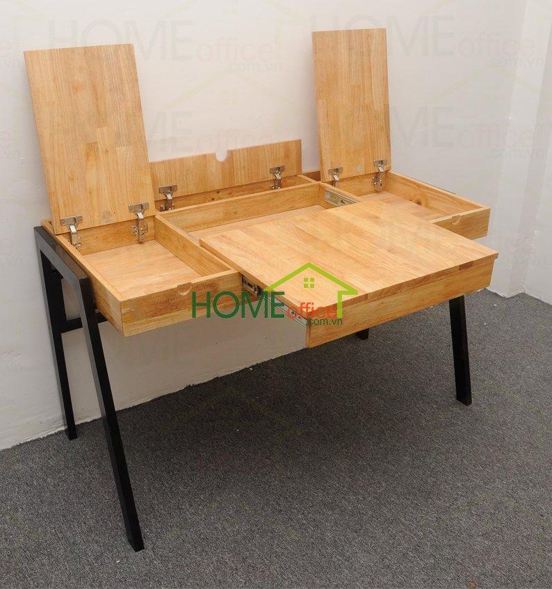 bàn làm việc đa năng bằng gỗ SLD68005