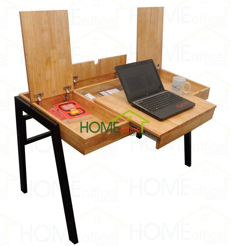 bàn làm việc đa năng bằng gỗ
