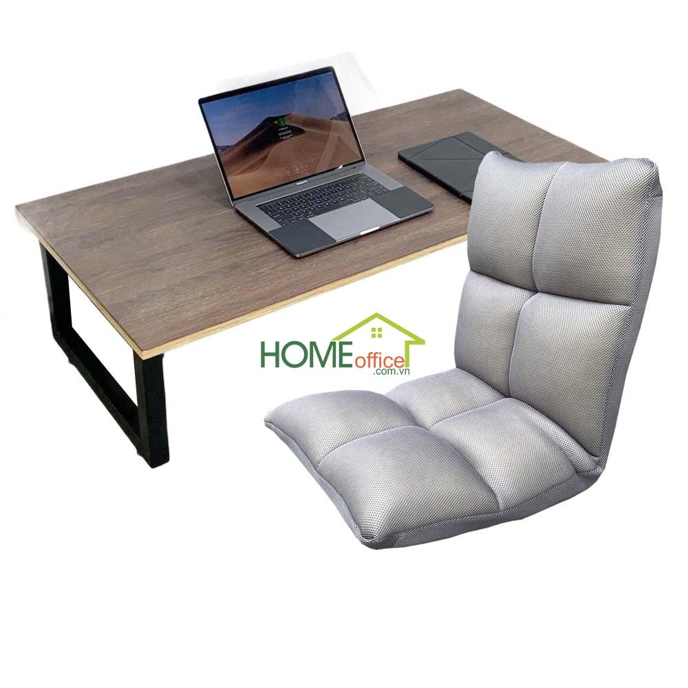 combo bàn ghế ngồi bệt 120x60cm