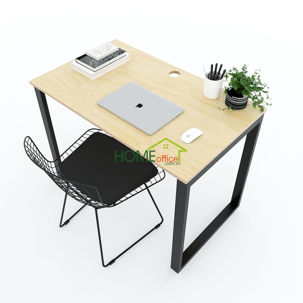 bàn làm việc kích thước nhỏ gọn 100x60cm