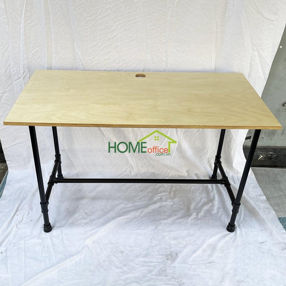 bàn làm việc kích thước tiêu chuẩn 120x60x75cm