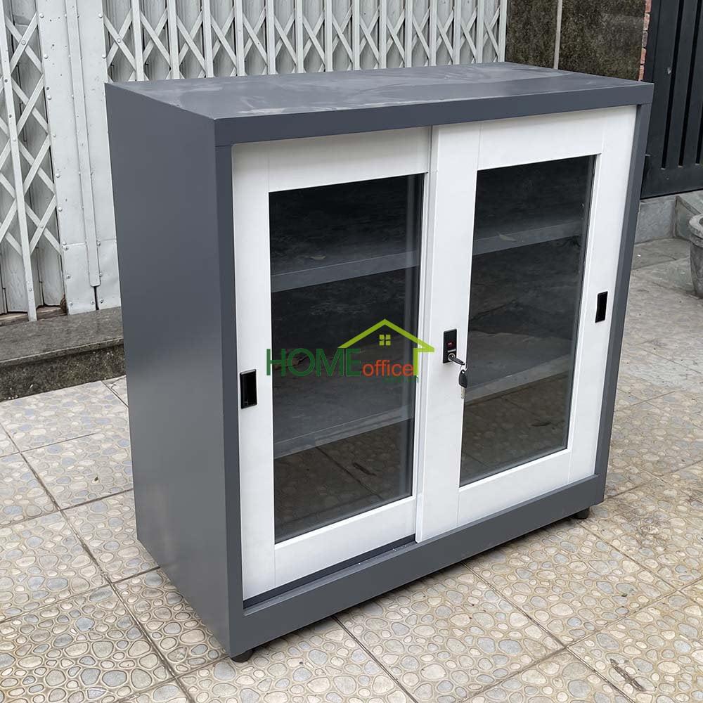 Tủ sắt văn phòng đơn giản nhỏ gọn