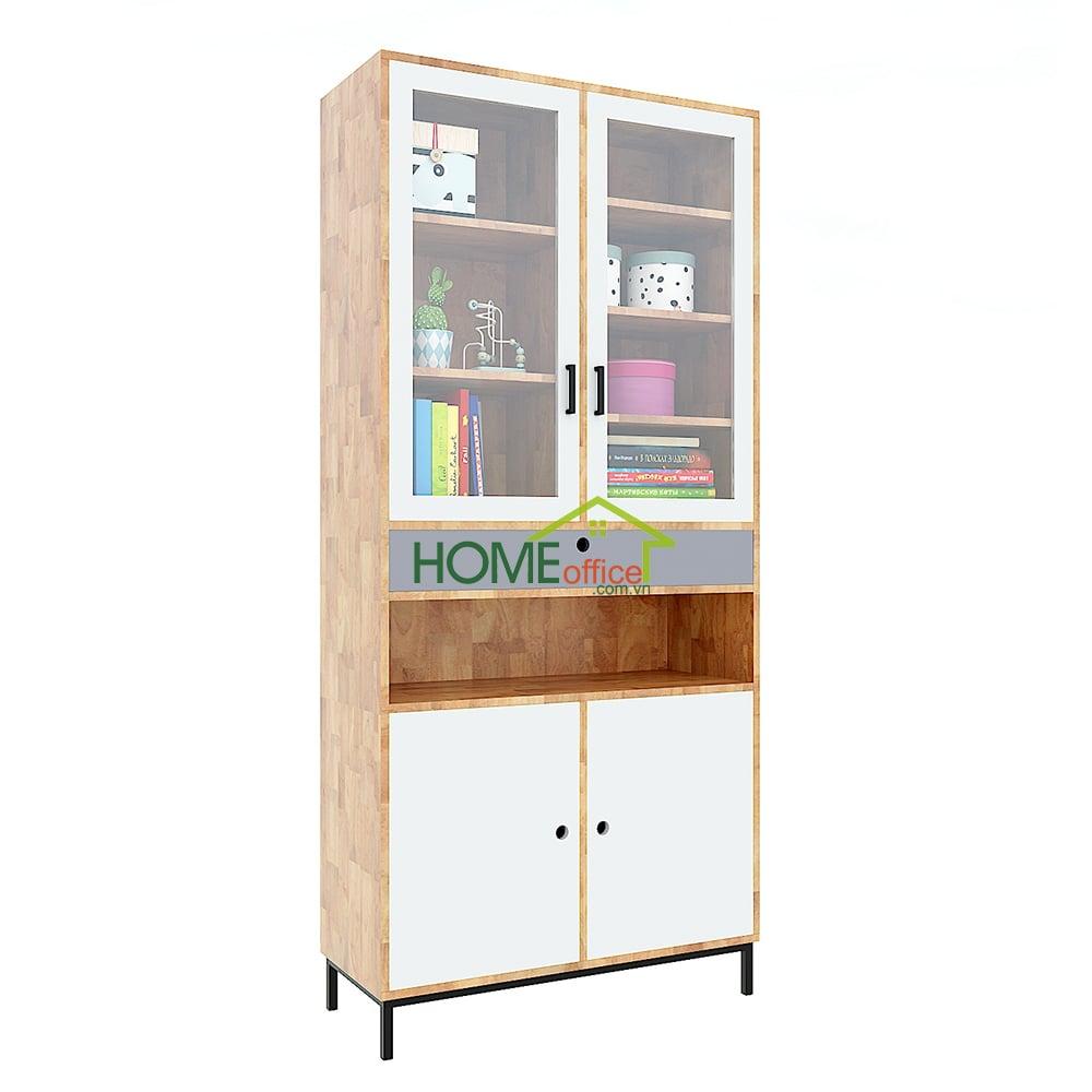 Tủ sách, tủ trưng bày cửa kínhh
